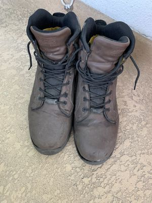 Steel toe boots size 12 for Sale in Torrance, CA