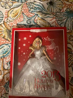 Holiday Barbie 2013 special edition for Sale in North Richland Hills, TX