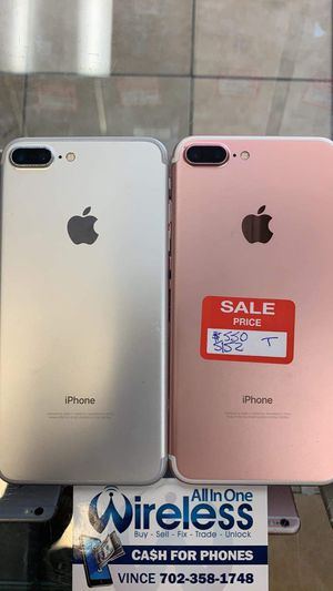 IPHONE 7 PLUS UNLOCKED NOW ONLY for Sale in Las Vegas, NV