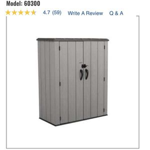Vertical Storage Shed Model 60300 for Sale in Dallas, TX