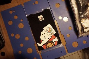 BAPE X GHOSTBUSTERS RED/BLACK SIZE XL DS W/ TAGS for Sale in Phoenix, AZ