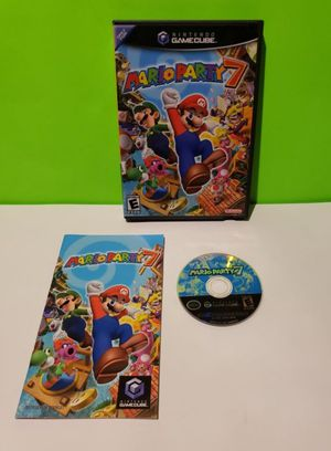 Nintendo Gamecube Mario Party 7 Complete in Box for Sale in Reinholds, PA