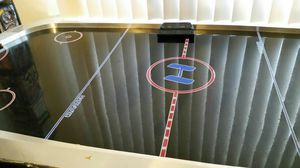 Air hockey table L 6ft W3ft H 31 inches for Sale in Las Vegas, NV