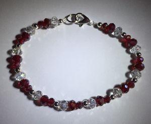 Red Crystal Bracelet for Sale in South Boston, VA