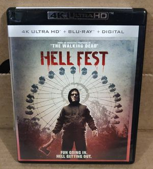 Hell Fest 4K Ultra HD (No digital) for Sale in Los Angeles, CA