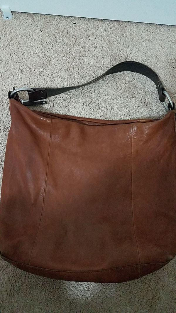 Ellington Leather Italian Hobo Bag Purse