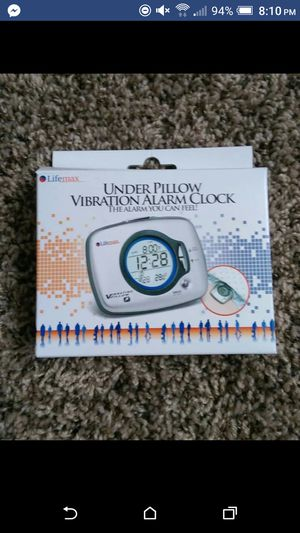 Under Pillow vibration alarm clock for Sale in Rochester, NY