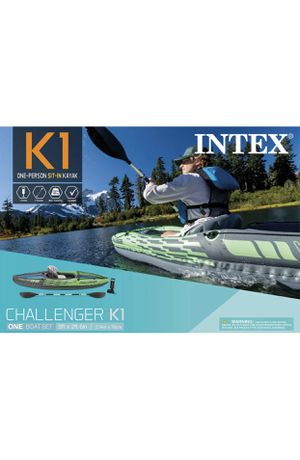 2 Intex Challenger K1 Inflatable Kayak (pair) for Sale in Charlotte, NC