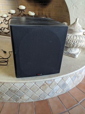 Polk audio subwoofer and soundbar for Sale in Cedar Park, TX