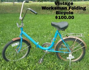 1970's Worksman Cycle - Foldable for Sale in Harbor Springs, MI