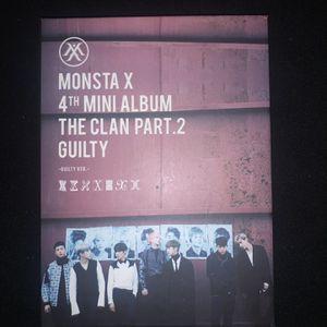 MONSTA X 'Lost' 4th mini album (Guilty Ver) for Sale in Hyattsville, MD