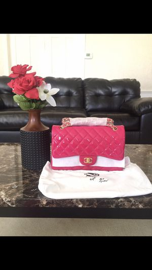 Pink patent Chanel bag for Sale in Flossmoor, IL