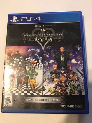 Kingdom Hearts HD 1.5 + 2.5 Remix - PS4 for Sale in Austin, TX