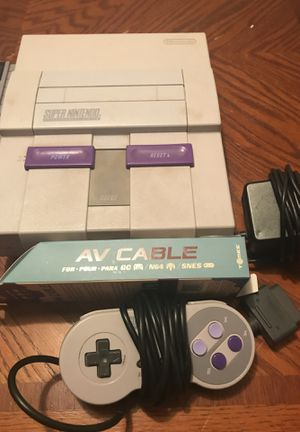 Super Nintendo SNES for Sale in Phoenix, AZ