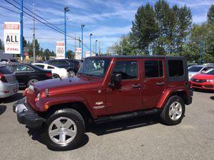 2009 Jeep Wrangler Unlimited for Sale in Everett, WA