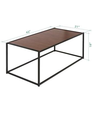 Zinus Modern Studio Rectangular Coffee Table for Sale in Seattle, WA