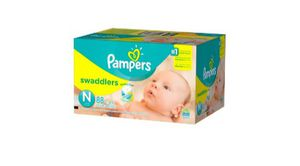 Newborn diapers and size 1 for Sale in Whittier, CA