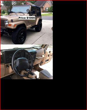 ֆ1OOO_1999 Jeep Wrengler for Sale in Torrance, CA