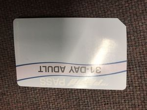 31 day bus pass must sell? No low offers !! for Sale in Grand Rapids, MI