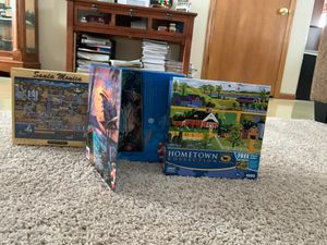 NIB: 3 Puzzles (500, 750, and 1000 piece) for Sale in Lake Hallie, WI