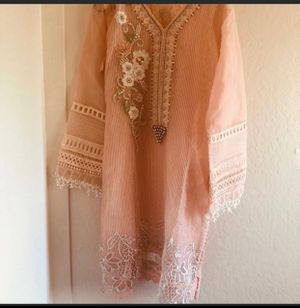Pakistani brand new 3 piece ladies party dress size large for Sale in Richmond, CA