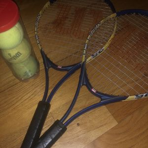 Tennis Rackets And Tennis Balls For Sale! for Sale in Calverton, NY