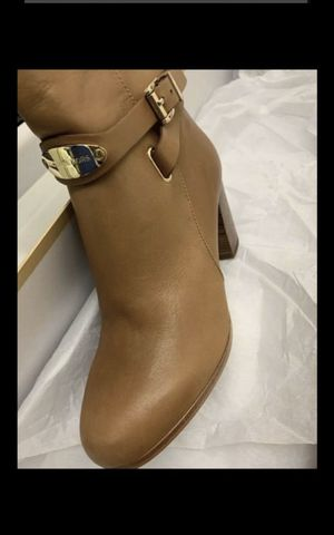 Women Michael Kors leather tall boots 6.5 for Sale in Corona, CA