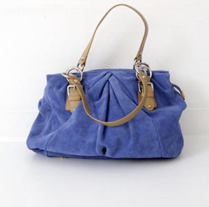 Nine West Blue Suede Bag for Sale in Fairfield, CA