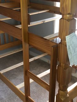 Wooden Bunk Beds (no mattresses) for Sale in Pittsburgh,  PA