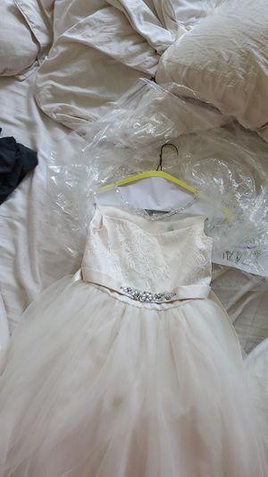 Flower girl dress .size 8 girls for Sale in Commerce Charter Township, MI