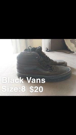 Black vans for Sale in Sidney, OH