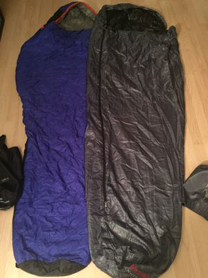 2 sleeping mummy camping bags for Sale in Cooper City, FL