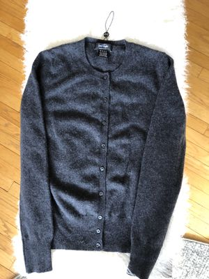 Lord&Taylor Cashmere Cardigan Charcoal, size M for Sale in Herndon, VA
