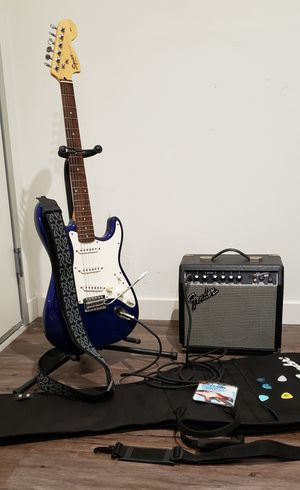 Electric Guitar Squier By Fender for Sale in Escondido, CA