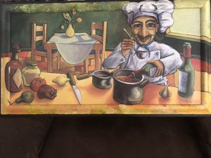 Large Chef Painting for Sale in Port St. Lucie, FL