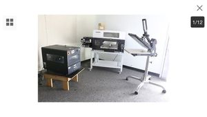 T-shirt PRINTER AND MORE COMPLETE DIGITAL GARMENT PRINTING SET START YOUR OWN COMPANY TODAY for Sale for sale  Long Branch, NJ