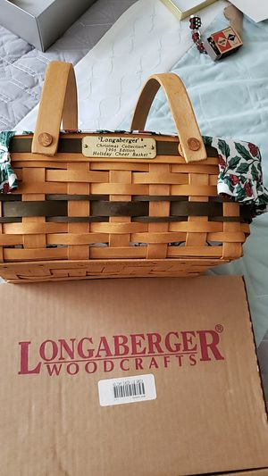 Longaberger 1996 Holiday Cheer Basket for Sale in Mount Prospect, IL