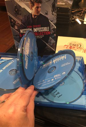 """Mission: Impossible 6-movie collection with """"Classified"""" insert book for Sale in Covina, CA"""