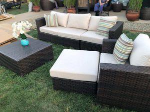 Sunbrella Patio Furniture set for Sale in Riverside, CA