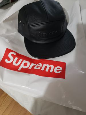 Supreme leather hat..$140. for Sale in Salem, MA