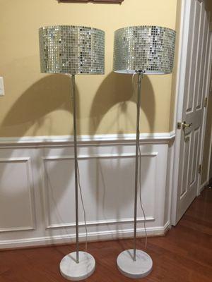 Beautiful floor lamps for Sale in Stone Ridge, VA