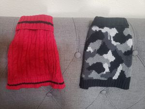 2 XS Dog Sweaters for Sale in Menifee, CA