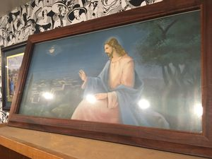 Vintage Jesus Christ religious wall art $40 for Sale in San Diego, CA