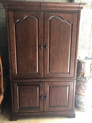 Tv Cabinet with Power Strip for Sale in Stoneham, MA