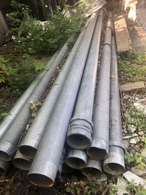 31/2x10 Galvanized tubes for Sale in Channelview, TX