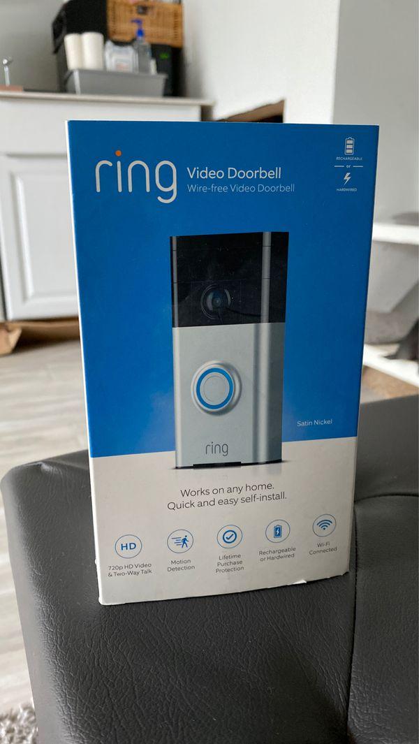 RING VIDEO DORR BELL