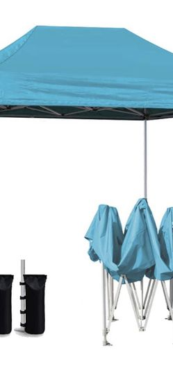 Turquoise Pop Up Canopy for Sale in Oregon City,  OR