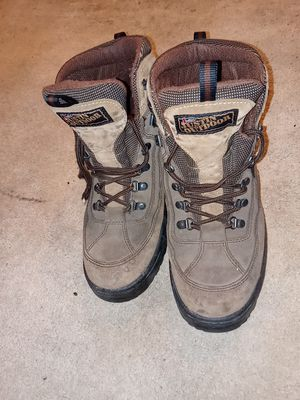 BRAND NEW JUSTIN outdoor working boots for Sale in Overland, MO