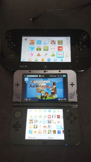Wii U and New Nintendo 3DS, with accessories and MANY games for Sale in Lombard, IL