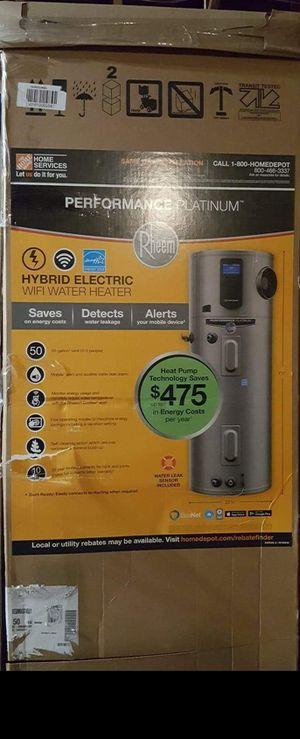 RHEEM Performance Platinum Hybrid Electric Wifi Water Heater for Sale in Hillsboro, MO